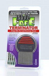 Nit free terminator nit comb