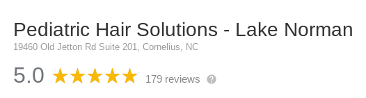 Reviews of Pediatric Hair Solutions in Lake Norman